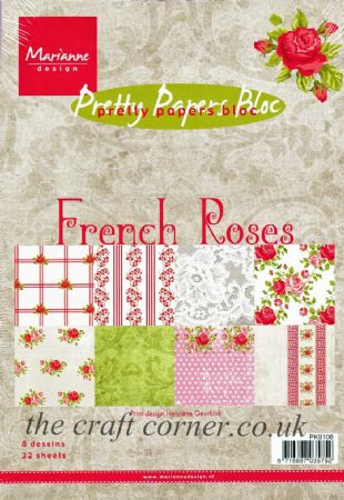 French Roses Pretty Papers Bloc 32 Sheets Paper Pad